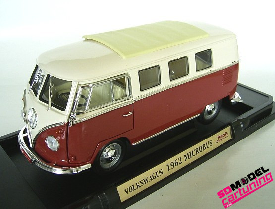 yatming vw t1 bus Rood