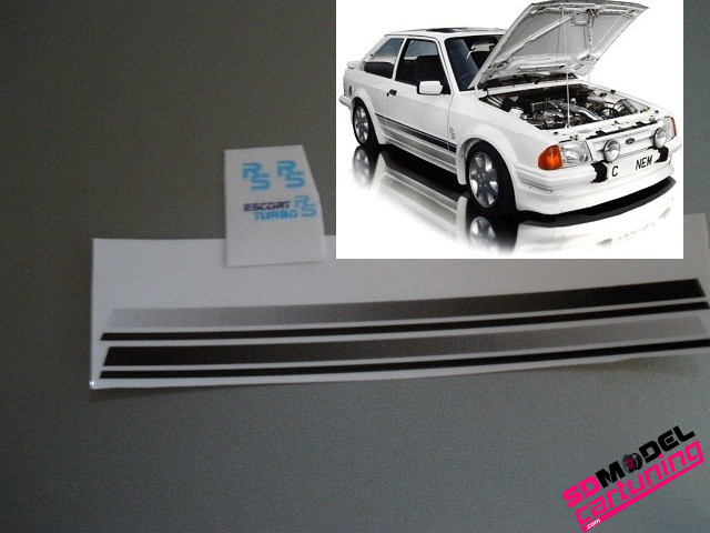 1:18 Ford escort 3 RS Stickerset