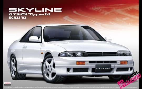 1:24 Nissan Skyline R33