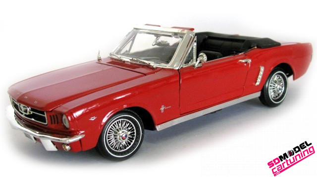 1:18 Ford Mustang Cabrio 1964