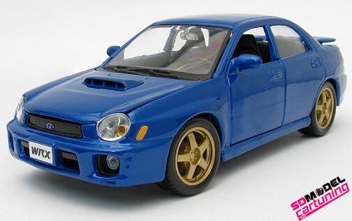 1:24 Subaru Impreza WRX Blauw