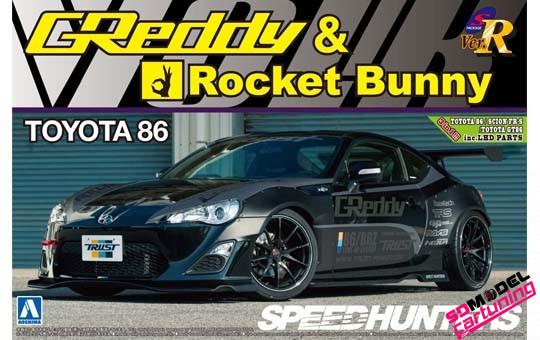 1:24 Toyota 86 rocket bunny