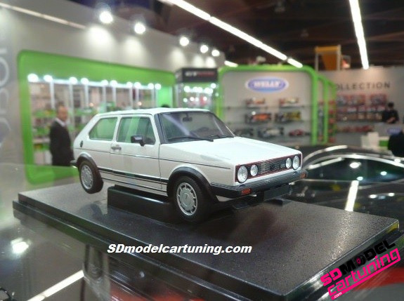 1:18 VW Volkswagen golf mk1 gti wit