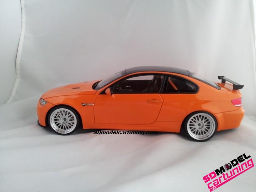 1:18 BMW E92 M3 GTS met BBS Lemans velgen