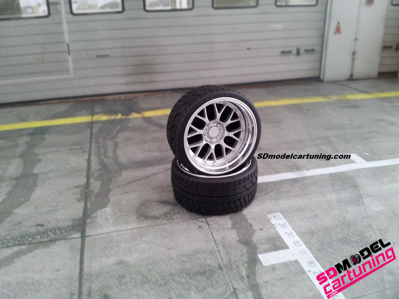 1:18 BBS RS-GT alu velgenset 19inch