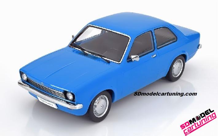 1:18 Opel Kadett C Sedan 1973 blauw