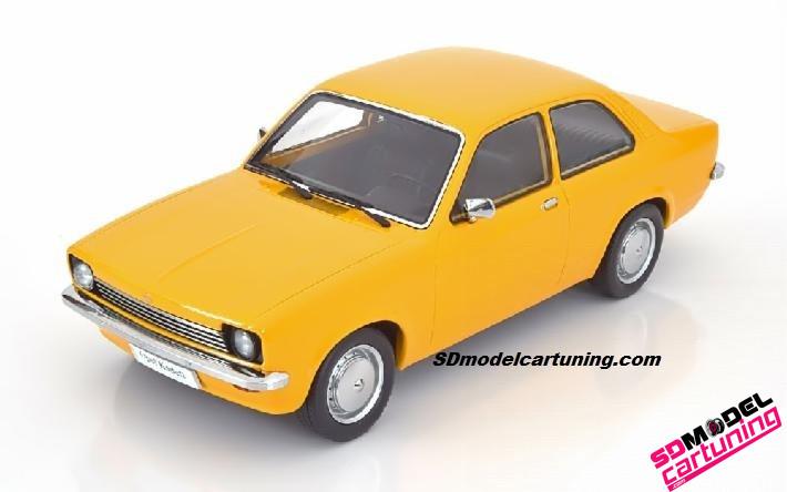 1:18 Opel Kadett C Sedan 1973 geel