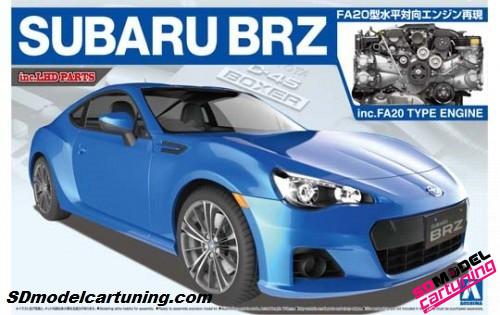 1:24 Subaru BRZ