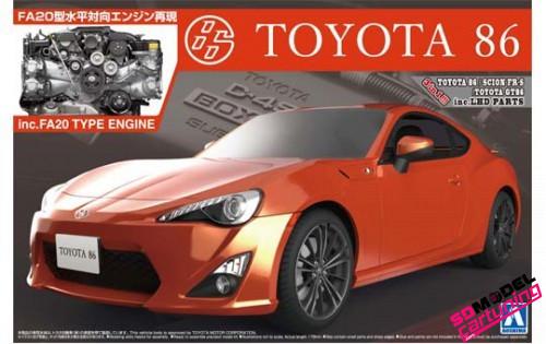 1:24 Toyota 86