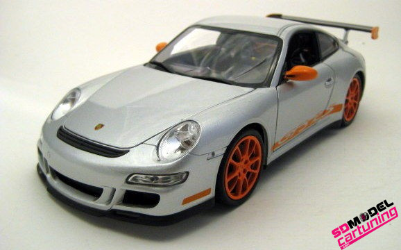 1:18 Porsche 911 GT3 RS Zilver