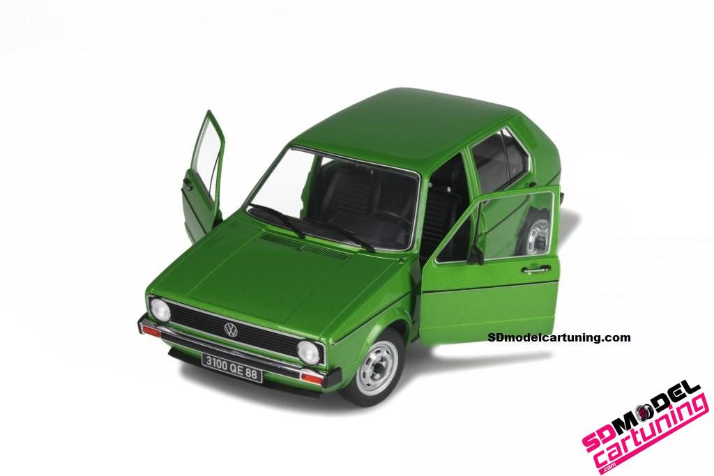 1:18 Volkswagen golf mk1 CL Groen