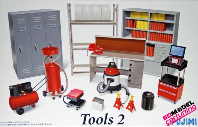1:24 Garage toebehoren set 2
