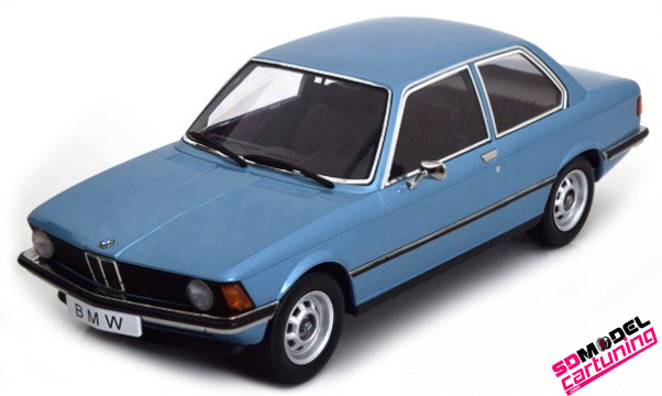 1:18 BMW 318i E21 Blauw