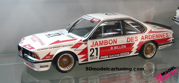 1:18 BMW 635 CSI Brun Motorsport SPA 1985