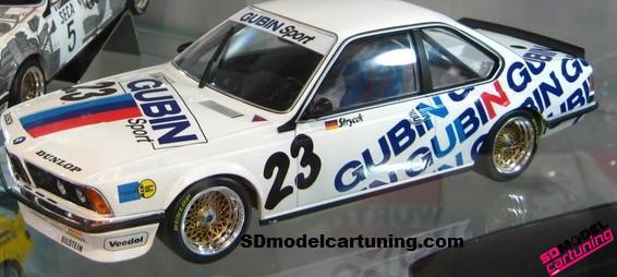1:18 BMW 635 CSI GUBIN Sport DPM 1984