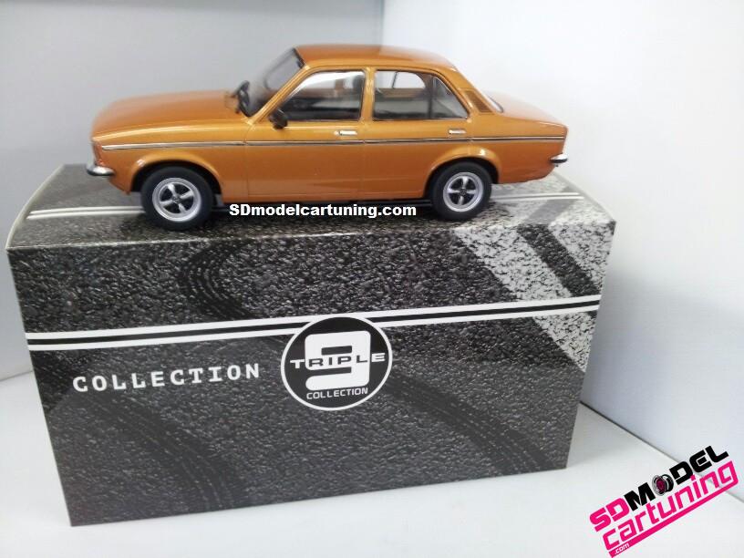 1:18 Opel Kadett C2 Sedan goudbrons