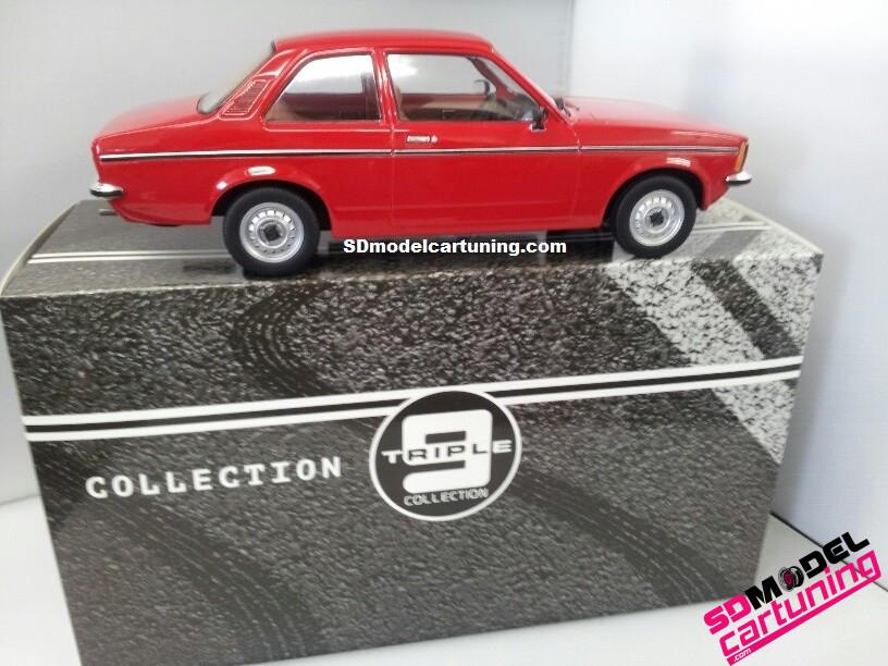 1:18 Opel Kadett C2 Sedan rood