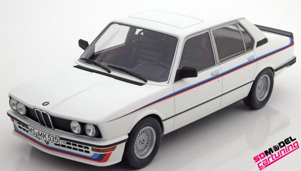 1:18 BMW E12 M535I Alpine wit