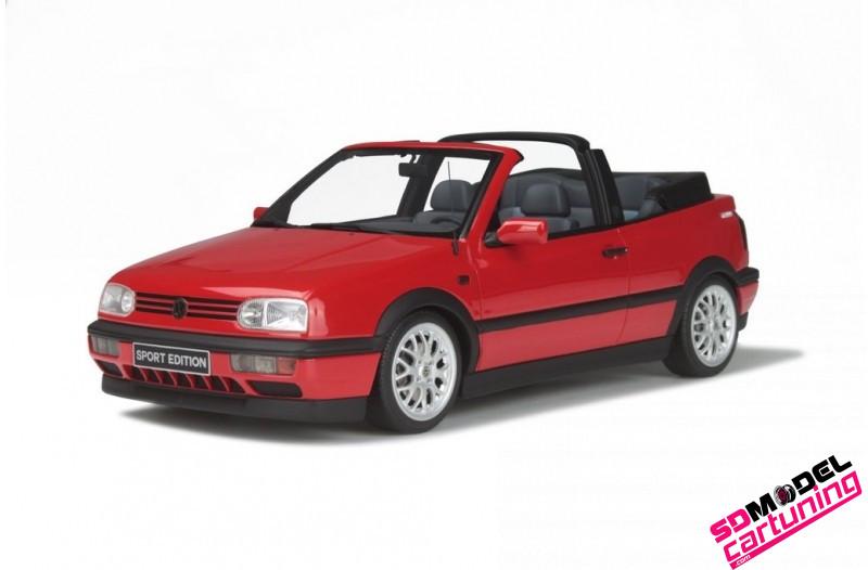 1:18 Volkswagen Golf mk3 Cabriolet sport