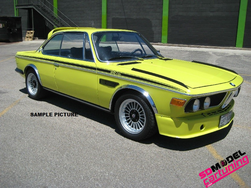 1:18 BMW 3.0 CSL Coupe 1973 Geel
