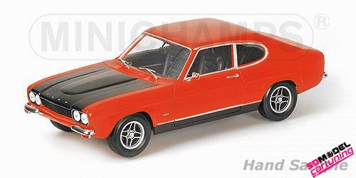 1:18 Ford Capri MK1 Rood/zwart