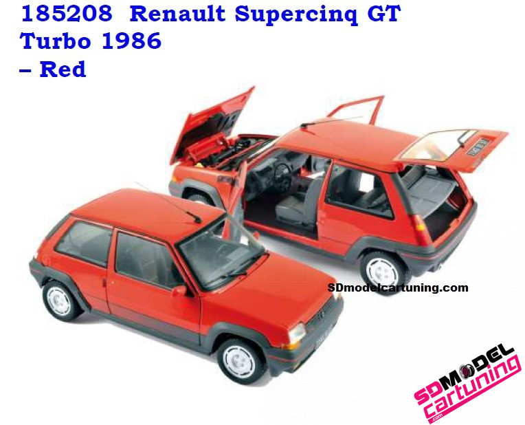 1:18 Renault Supercinq GT Turbo 1987