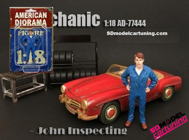 1:18 Mechanic John inspecting