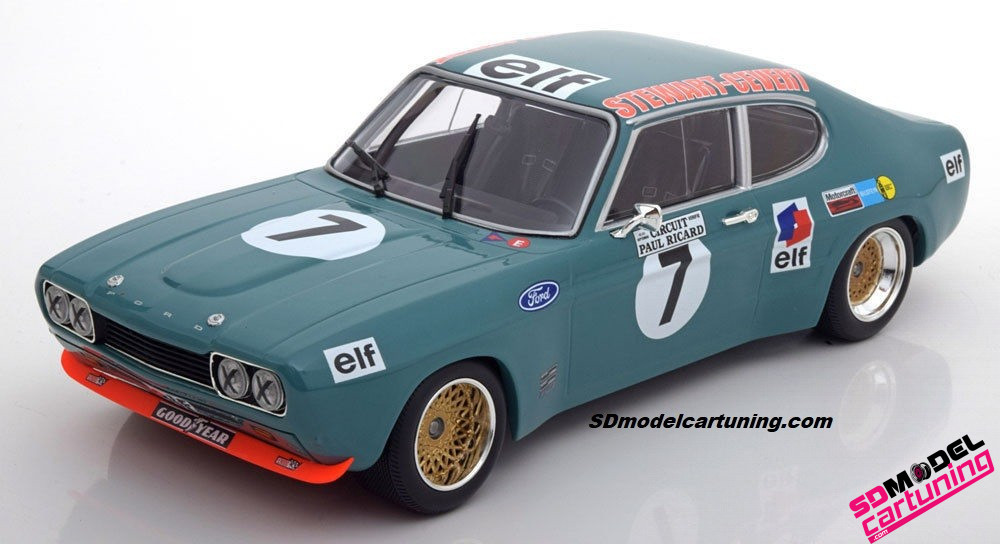 1:18 Ford Capri RS2600 6H Paul Ricard 1972