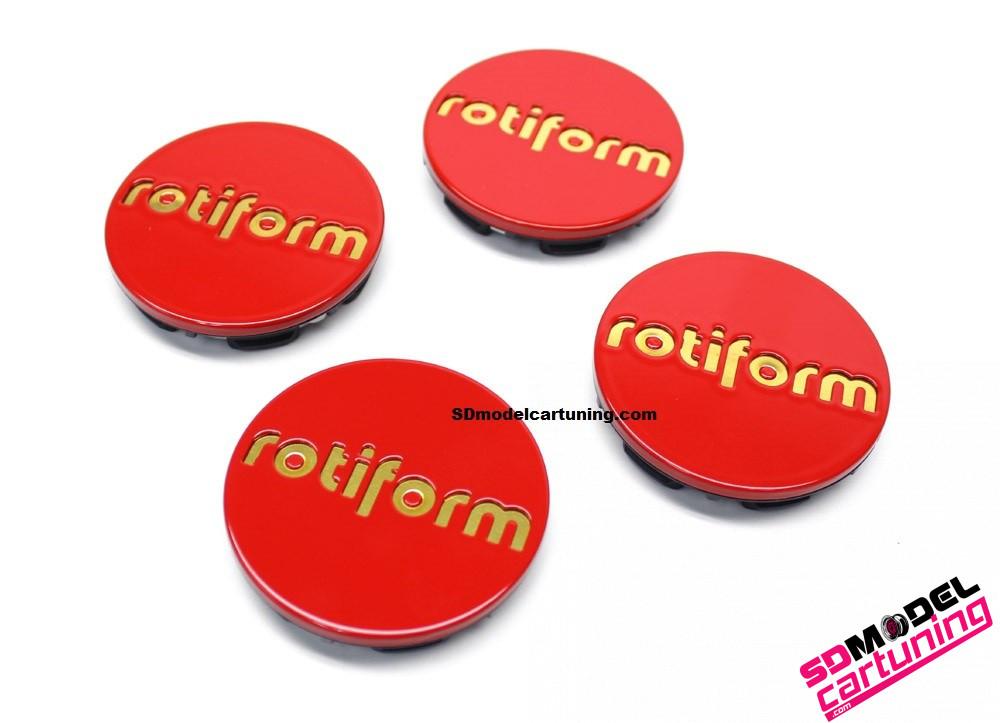 1:18 Rotiform velg emblemen (rood/goud)