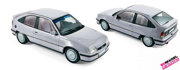 1:18 Opel Kadett GSI Zilvergrijs