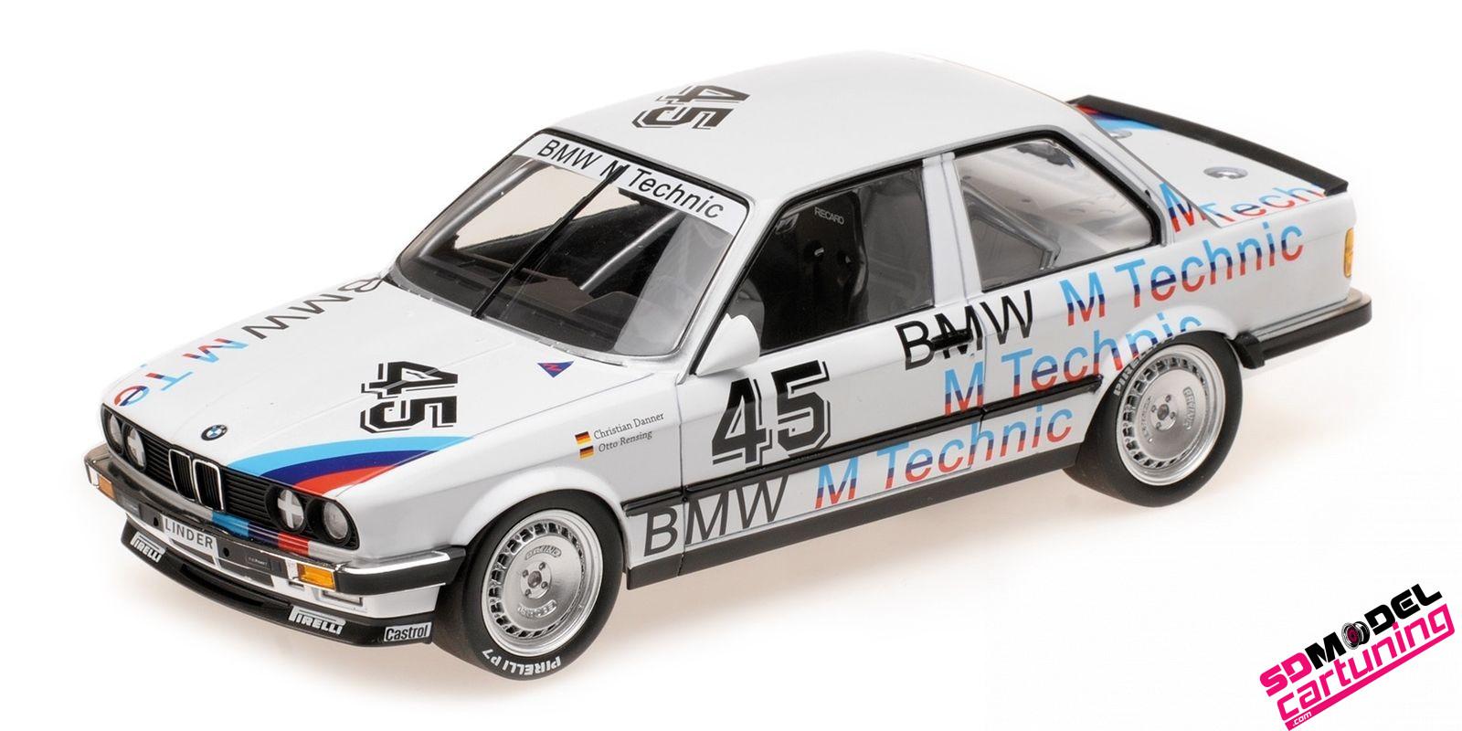 1:18 BMW E30 325i Linder Rennsport ETCC 1986