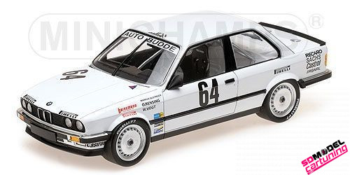 1:18 BMW E30 325i Auto Budde Winner 24h Nring 1986