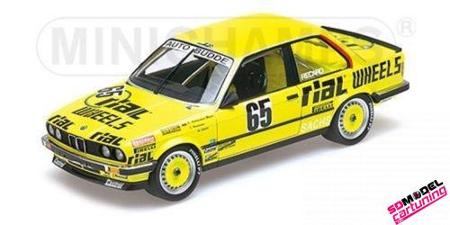 1:18 BMW E30 325i Rial wheels Nring 1986
