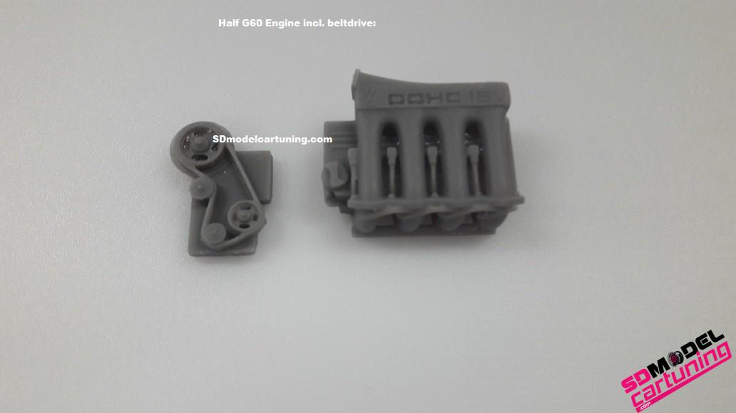 1:18 G60 DOHC motorblok kit