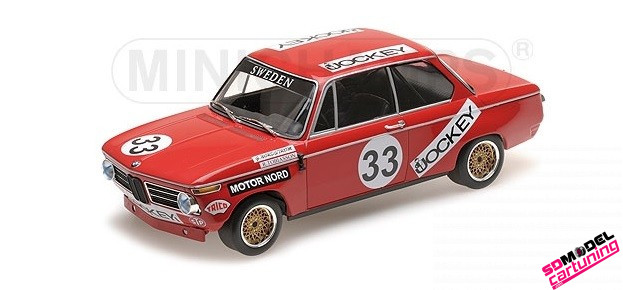 1:18 BMW 2002 Jockey racing Nring 1972