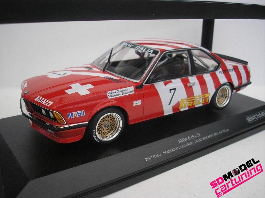 1:18 BMW 635CSI Brancatelli/Kelleners GP Brno 1984