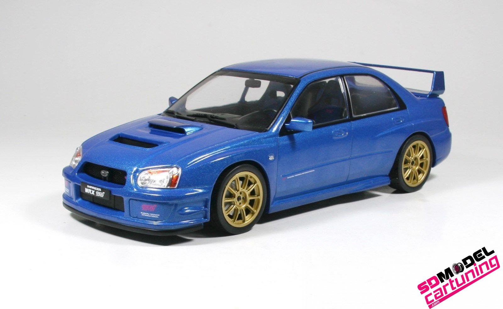 1:18 Subaru Impreza WRX STI 2003