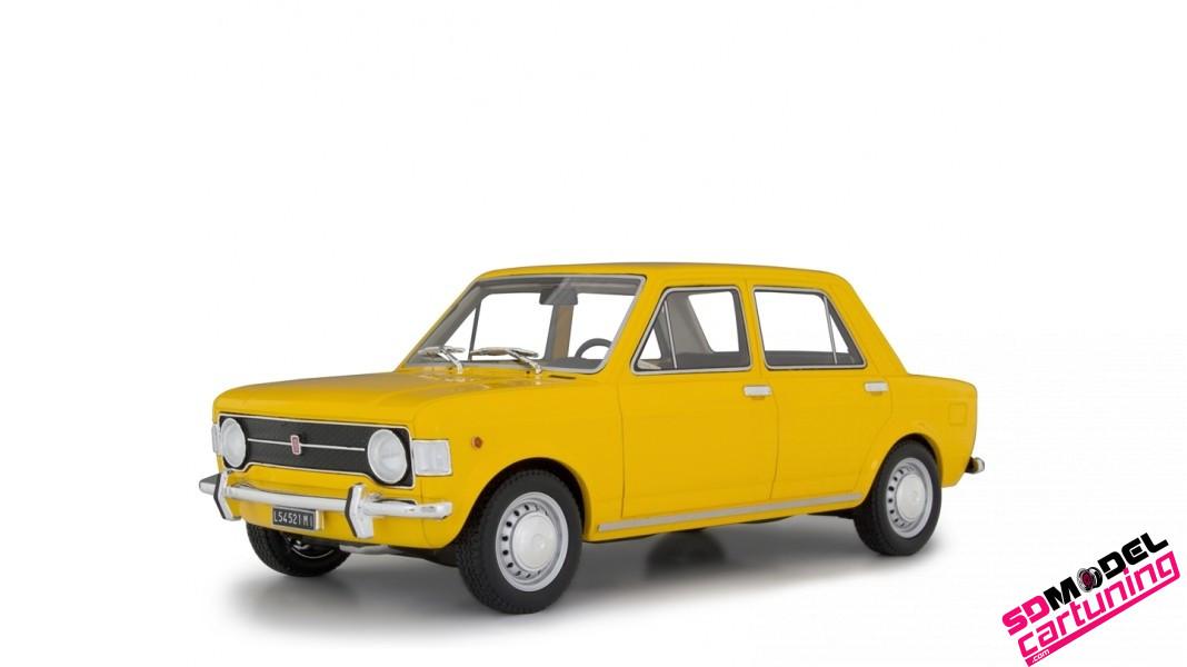 1:18 Fiat 128 serie1 1969 Geel