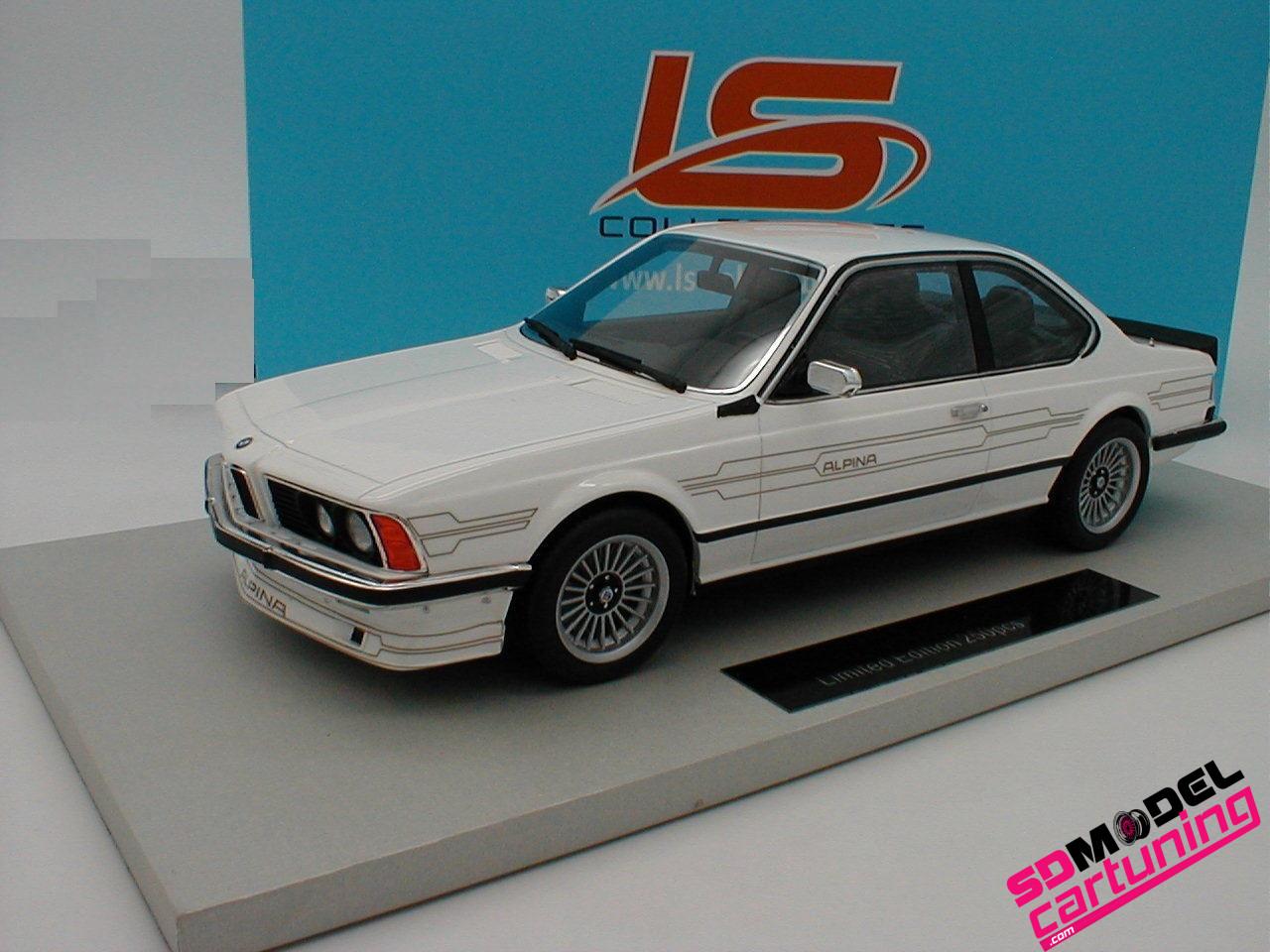 1:18 BMW Alpina B7 Turbo coupe wit