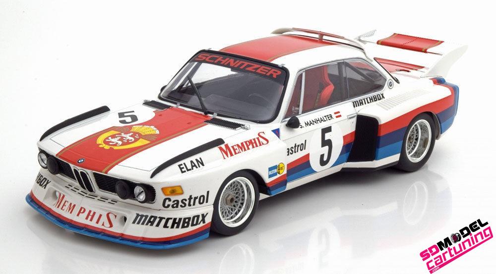 1:18 BMW 3.5 CSL GR.5 Winner Havirov Int. 1977