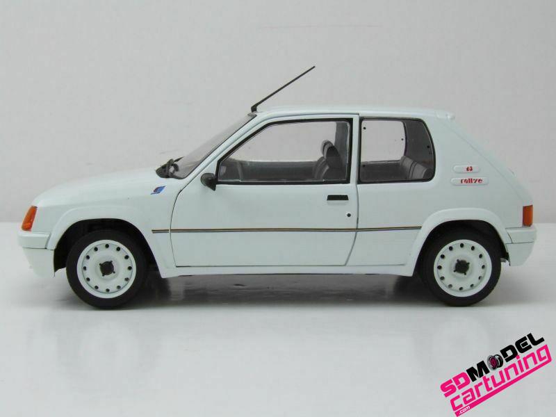 1:18 Peugeot 205 Rallye 1987 wit
