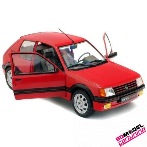 1:18 Peugeot 205 1.9 GTI 1985 Rood