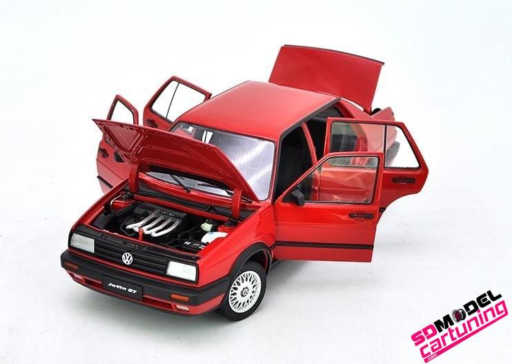 1:18 Volkswagen Jetta MK2 GT Rood