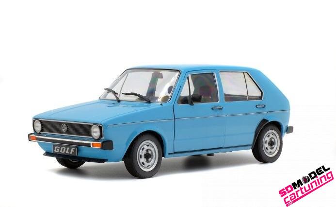 1:18 Volkswagen golf mk1 CL Blauw
