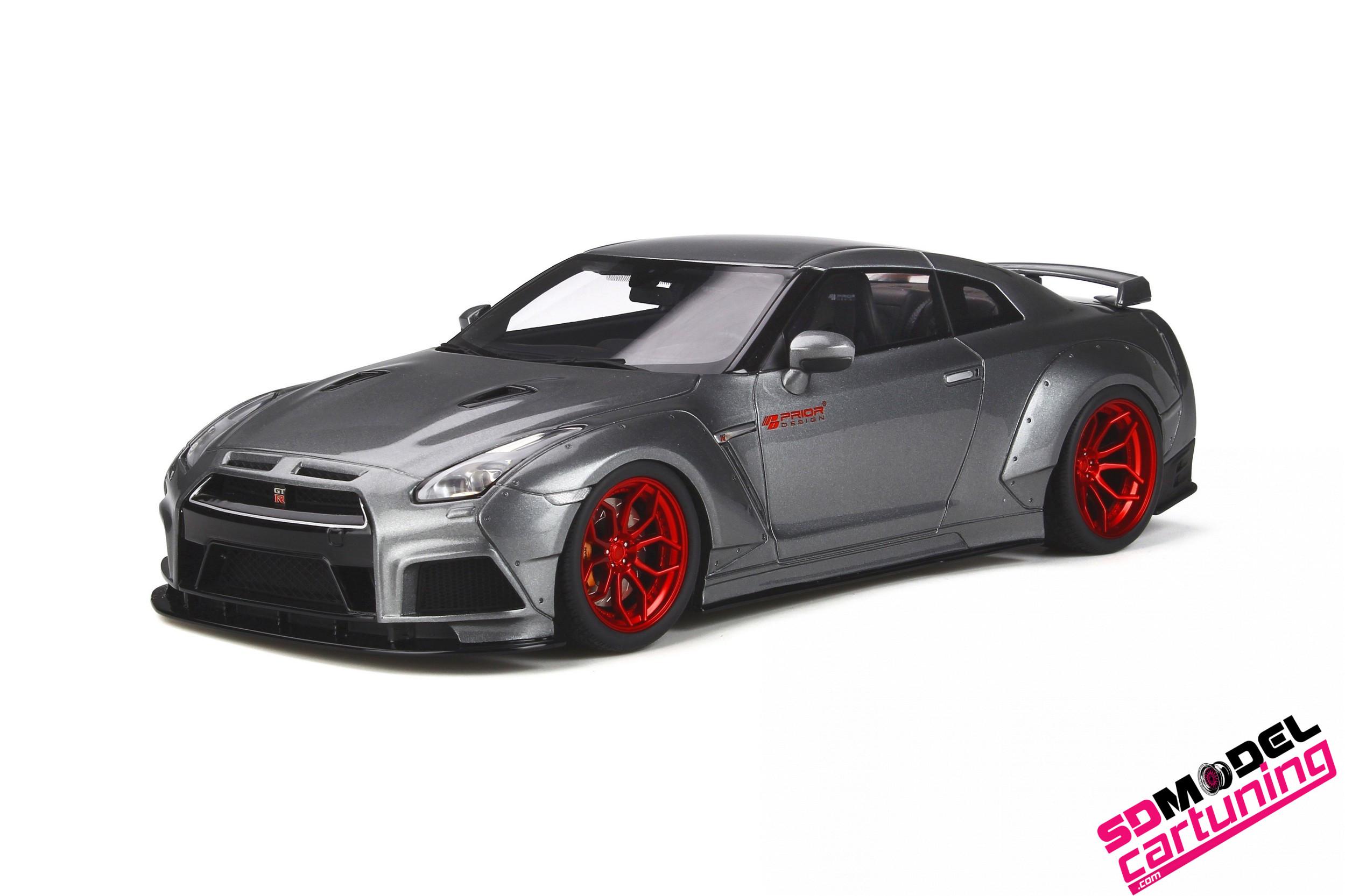 1:18 Nissan GT-R R35 Prior design