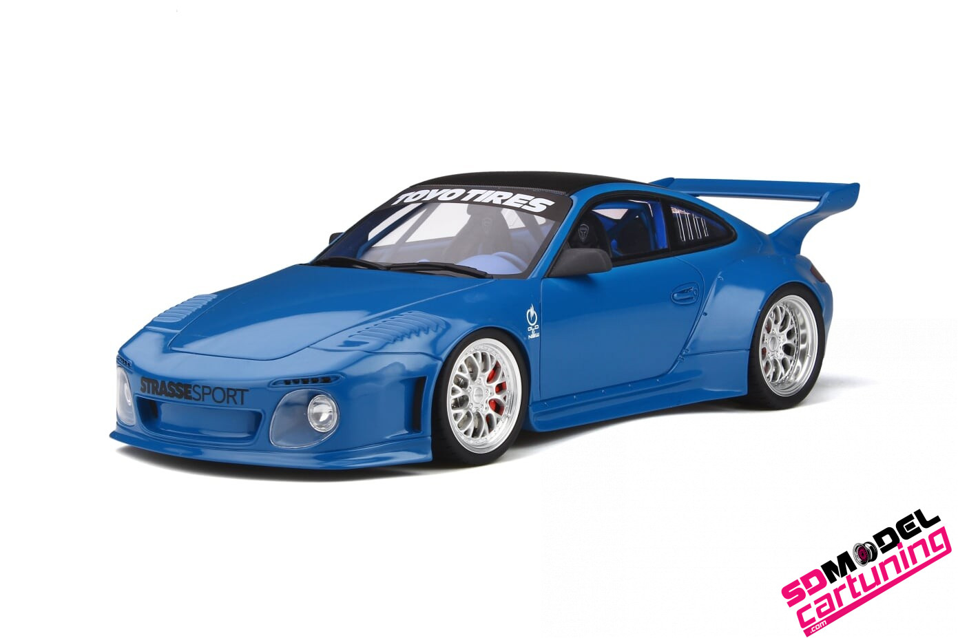 1:18 Porsche 911 old and new bodykit