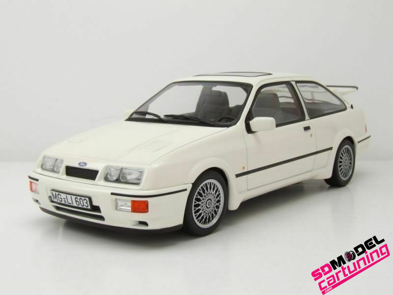 1:18 Ford Sierra RS Cosworth 1986 Wit