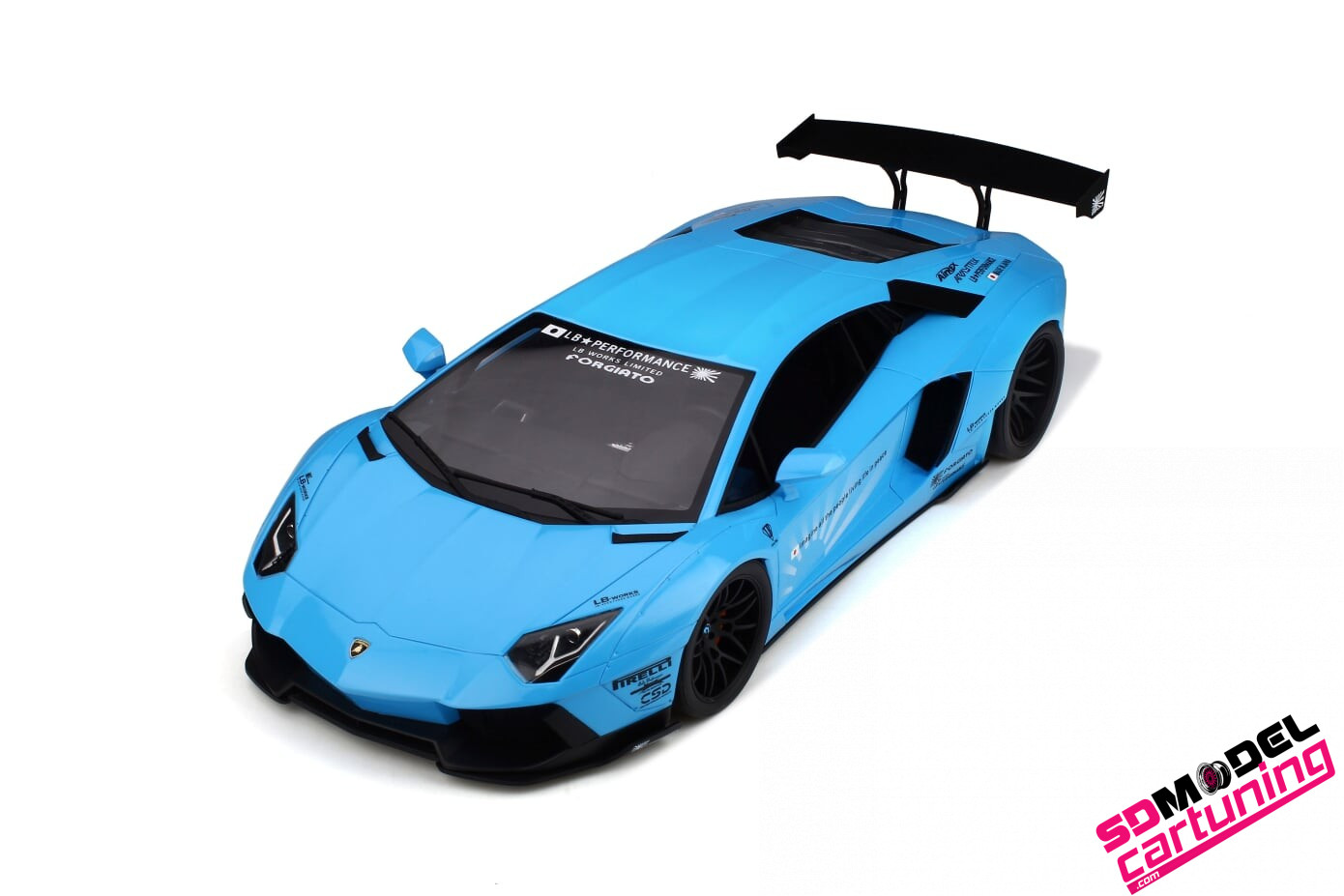 1:12 Lamborghini Aventador LB Works
