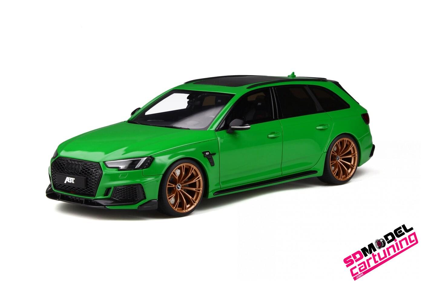 1:18 Audi RS4+ ABT Viper groen