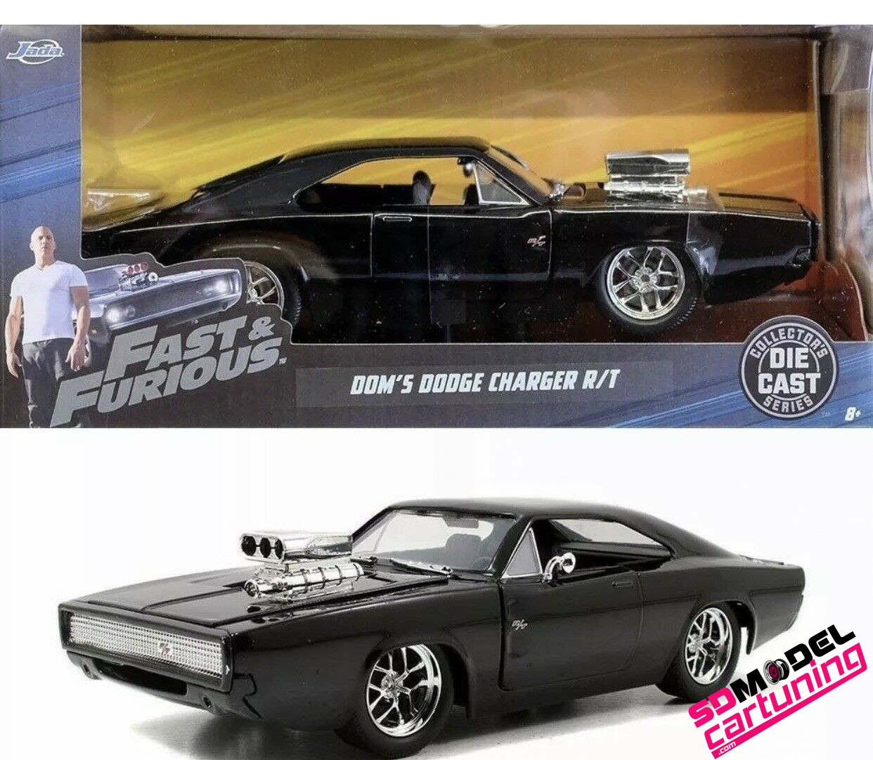 1:24 Dodge Charger R/T Dom´s Fast&Furious